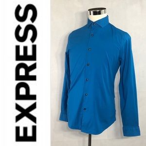 EXPRESS 1MX Limited Edition Men Dress Button Down